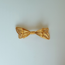 Silver Gilt Brooch Small Ribbon